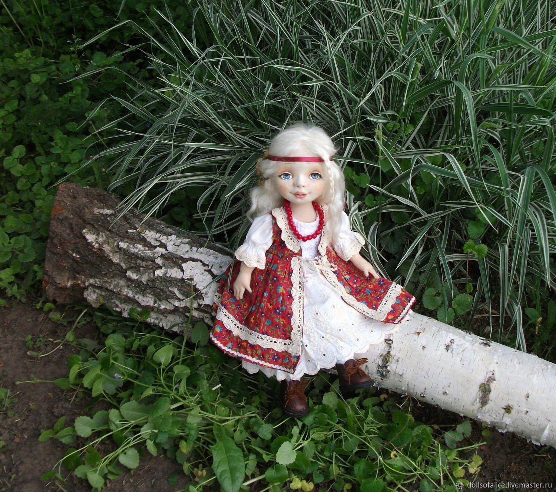Текстильная кукла, Коллекционные куклы, Большая Мартыновка, Фото №1