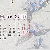 Канцелярские товары handmade. Livemaster - original item Desktop calendar Japan for 2015 handmade. Handmade.