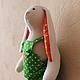 Куклы Тильды ручной работы. Ярмарка Мастеров - ручная работа. Купить Заяц в комбинезоне / Зайчик. Handmade. Зайчик, зайцы