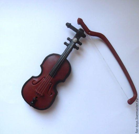 Скрипка для игрушек. Аксессуары для кукол