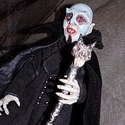 Куклы и игрушки ручной работы. Ярмарка Мастеров - ручная работа Носферату, Вампир, кукла для интерьера и любителей Horror. Handmade.