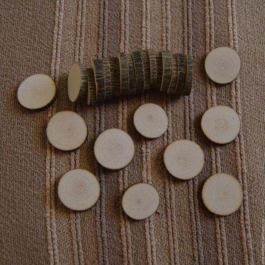 Имеется в наличии: Клён, 25 плашек, круглые, 700р.