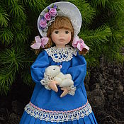 Куклы и игрушки ручной работы. Ярмарка Мастеров - ручная работа Кукла из  полимерной глины Софьюшка. Handmade.