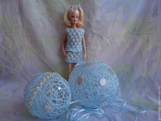 """Одежда для кукол ручной работы. Ярмарка Мастеров - ручная работа. Купить Ажурный наряд """"Морской бриз"""" для куклы Барби. Handmade."""