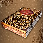 Для дома и интерьера handmade. Livemaster - original item Photo album with case