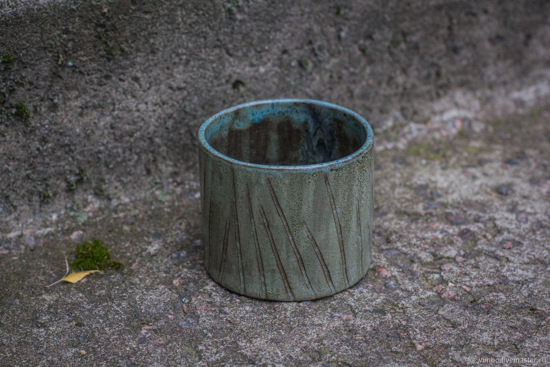 Вазы ручной работы. Ярмарка Мастеров - ручная работа. Купить Керамический стакан интерьерный. Handmade. Керамика, стакан, ручная работа