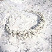 Свадебный салон handmade. Livemaster - original item Tiara for the bride.. Handmade.