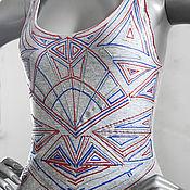 Одежда ручной работы. Ярмарка Мастеров - ручная работа Рождение орнамента. Handmade.