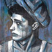 Картины и панно ручной работы. Ярмарка Мастеров - ручная работа Cold Boy. Handmade.