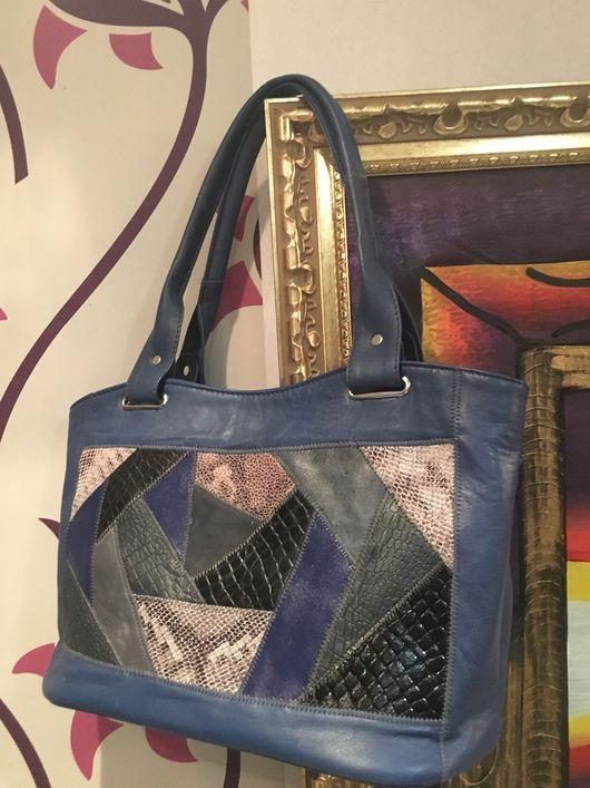 Женские сумки ручной работы. Ярмарка Мастеров - ручная работа. Купить М715. Handmade. Натуральная кожа, винмтительная сумка