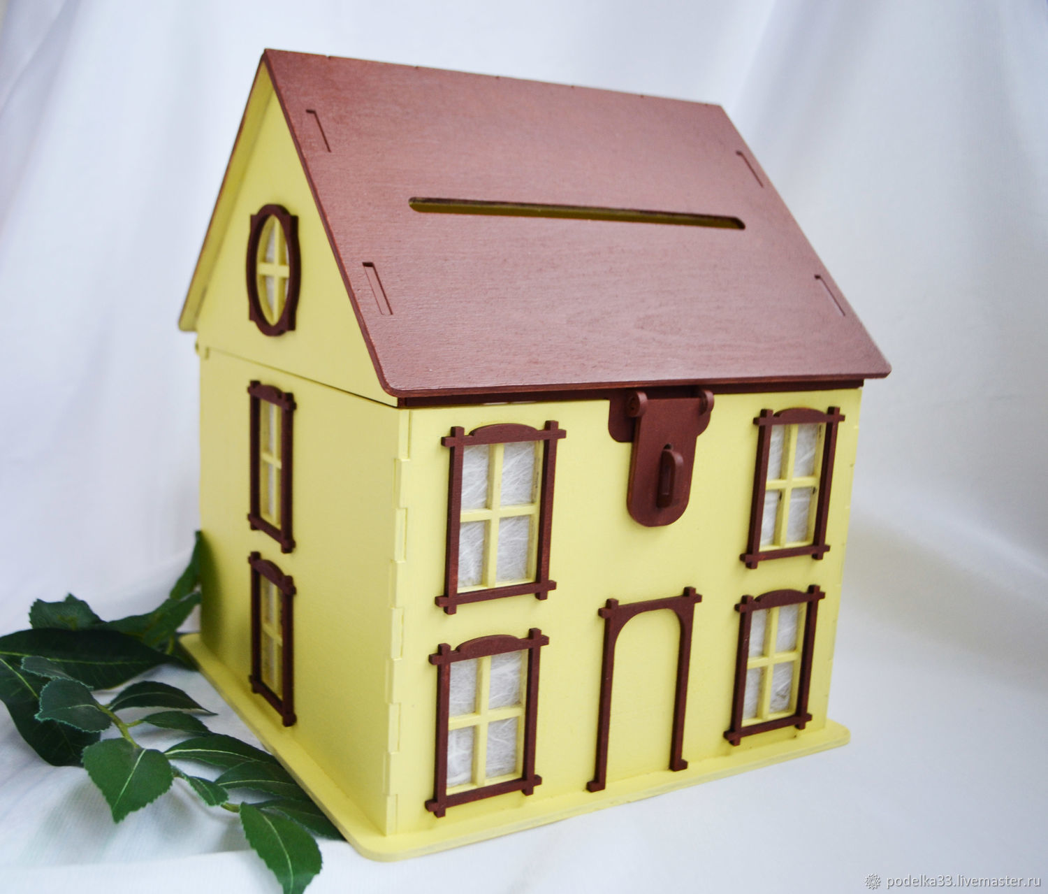Piggy Bank House in yellow tones, Piggy Bank, Moscow,  Фото №1