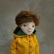 Николя. Подвижная куколка (на каркасе)