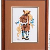 Картины и панно ручной работы. Ярмарка Мастеров - ручная работа Красотка Фру-фру.... Handmade.
