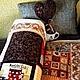 Текстиль, ковры ручной работы. Ярмарка Мастеров - ручная работа. Купить Кофе в постель. Handmade. Для дома, подарок, печворк