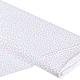 Ткань немецкий хлопок `Мультиточки` (розовые/бирюзовые)