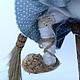 Добрая Баба-Яга. Мягкие игрушки. Елена Сивоплясова  'Старый чемодан'. Ярмарка Мастеров.  Фото №6