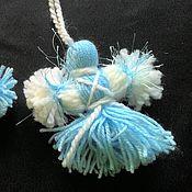 Куклы и игрушки ручной работы. Ярмарка Мастеров - ручная работа Куколки Мартинички Голубые. Handmade.