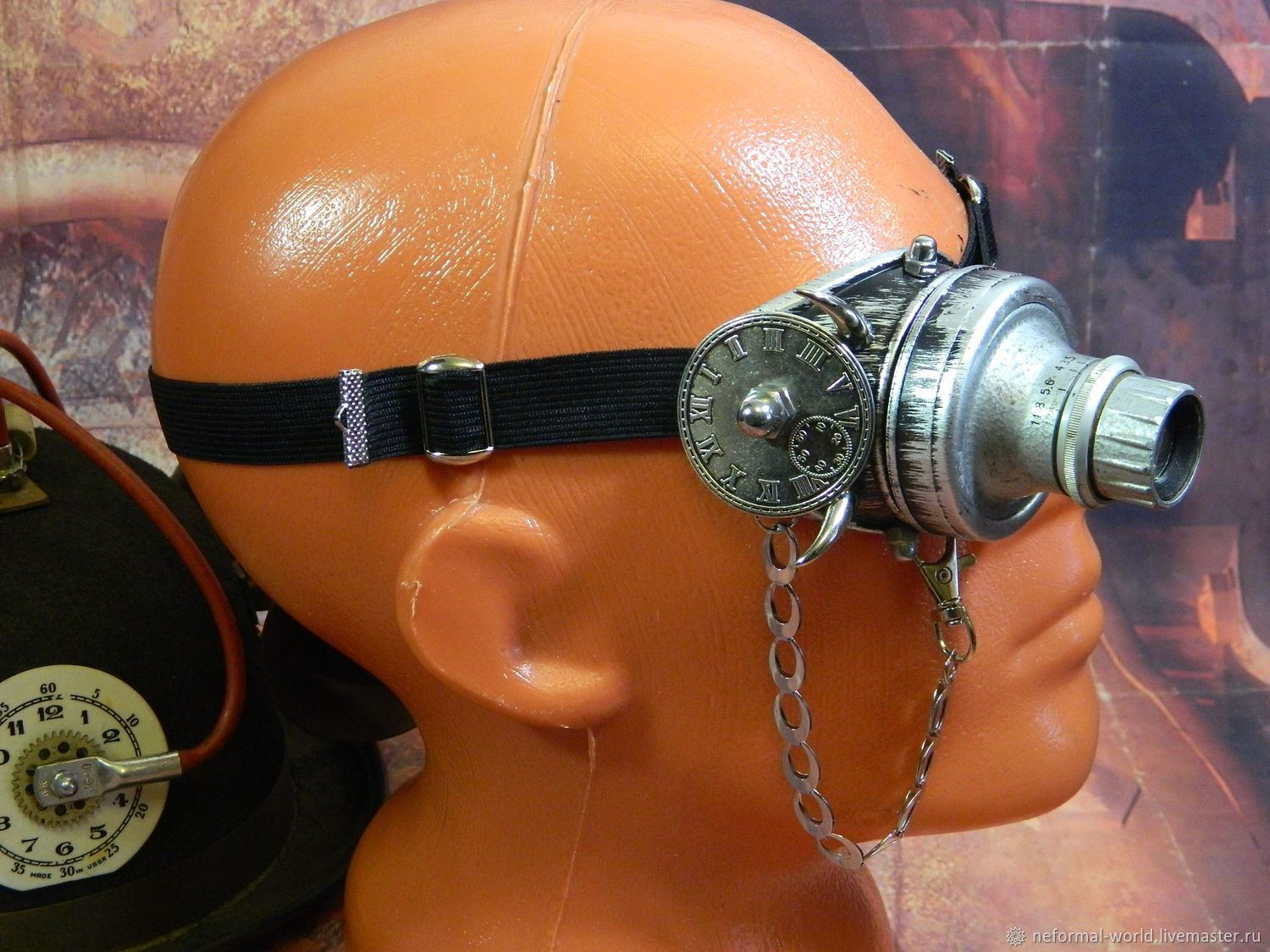 "Monocle Steampunk ""SCIENTIST CYBER-58"", Subculture Attributes, Saratov,  Фото №1"