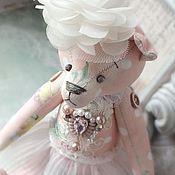 """Куклы и игрушки ручной работы. Ярмарка Мастеров - ручная работа Мишка """"Женевьев"""". Handmade."""
