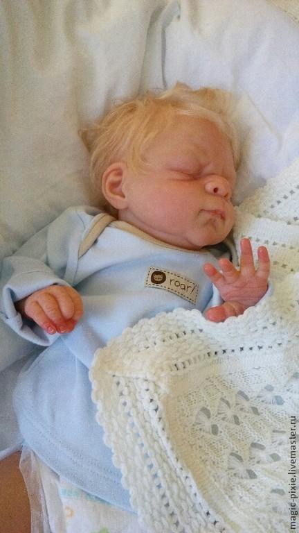 Куклы-младенцы и reborn ручной работы. Ярмарка Мастеров - ручная работа. Купить Zhenya кукла реборн. Handmade. Бежевый, подарок