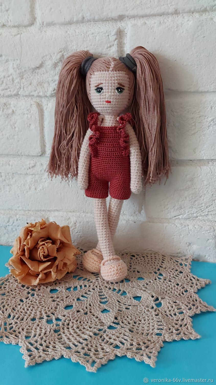 Кукла вязаная, Куклы и пупсы, Чехов,  Фото №1
