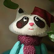 Куклы и игрушки ручной работы. Ярмарка Мастеров - ручная работа Енот. Мягкая игрушка. Гном. Handmade.