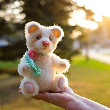 Куклы и игрушки ручной работы. Ярмарка Мастеров - ручная работа Мишка тедди Мелодия. Handmade.