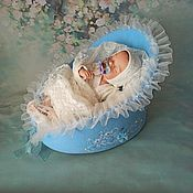 Куклы и игрушки handmade. Livemaster - original item Cradle for the INFANTE doll 2. Handmade.