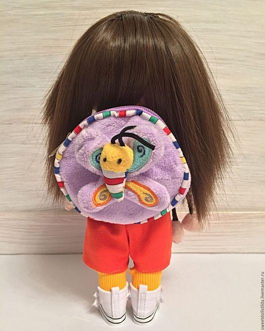 Коллекционные куклы ручной работы. Ярмарка Мастеров - ручная работа. Купить Даша-путешественница. Handmade. Комбинированный, семья, трикотаж