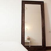 Для дома и интерьера ручной работы. Ярмарка Мастеров - ручная работа Напольное зеркало в раме. Handmade.
