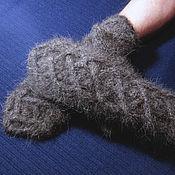 Аксессуары handmade. Livemaster - original item Men`s  mittens `Lacing`. Handmade.