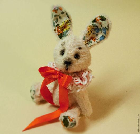 Мишки Тедди ручной работы. Ярмарка Мастеров - ручная работа. Купить Зайчонок Тим. Handmade. Белый, друзья мишек тедди
