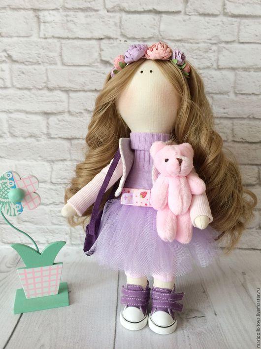 Куклы тыквоголовки ручной работы. Ярмарка Мастеров - ручная работа. Купить Кукла ручной работы. Handmade. Комбинированный, кукла для девочки