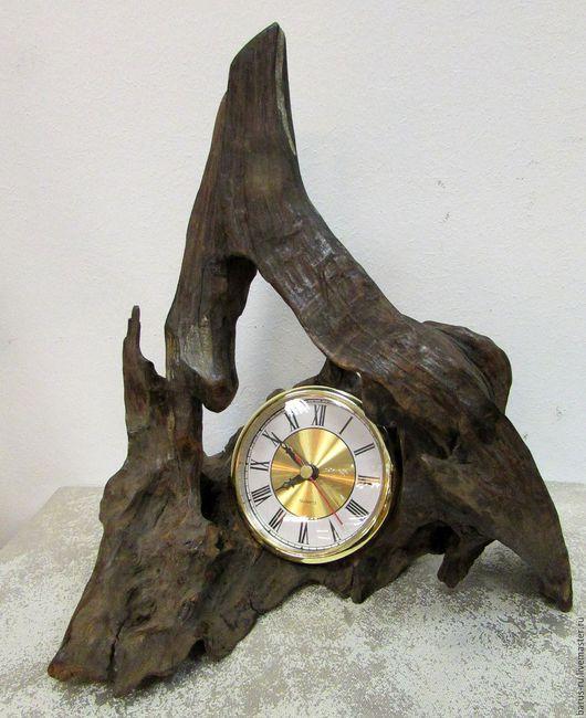 Часы для дома ручной работы. Ярмарка Мастеров - ручная работа. Купить Часы каминные  из дерева  Природа. Handmade. сувениры и подарки
