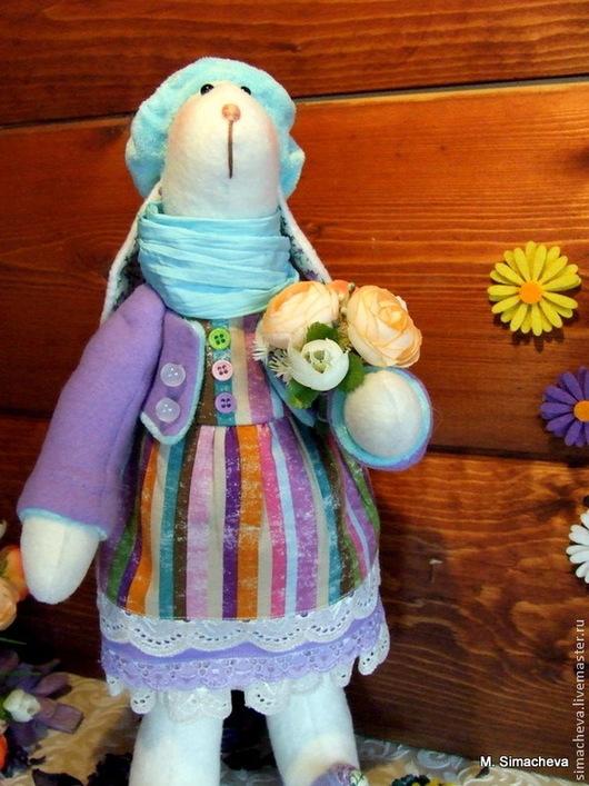 Игрушки животные, ручной работы. Ярмарка Мастеров - ручная работа. Купить Заюшка Мими. Handmade. Заяц текстильный, Пасхальный кролик
