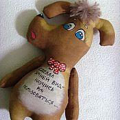 Куклы и игрушки ручной работы. Ярмарка Мастеров - ручная работа Песик. Handmade.
