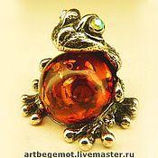 Куклы и игрушки handmade. Livemaster - original item Frog Nyusha.. Handmade.