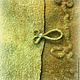 Пиджаки, жакеты ручной работы. Жакет валяный В раю оливковых глаз. Юлия Блохина           (Wool charm). Ярмарка Мастеров.