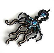 """Кулон """"Оctopus blue"""""""
