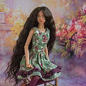 Куклы и игрушки ручной работы. Ярмарка Мастеров - ручная работа Алиса, шарнирная кукла. Handmade.