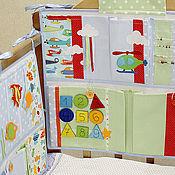 Для дома и интерьера ручной работы. Ярмарка Мастеров - ручная работа Кармашки для детской комнаты с развивающими элементами. Handmade.