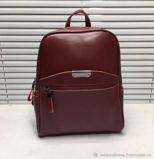 70761a1670ea Рюкзаки ручной работы. Ярмарка Мастеров - ручная работа. Купить Женская  сумка рюкзак кожаная трансформер ...