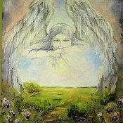 """Картины и панно ручной работы. Ярмарка Мастеров - ручная работа Картина """"Запечатленный ангел"""". Handmade."""
