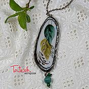 Украшения handmade. Livemaster - original item Boho pendant