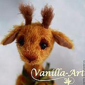 Куклы и игрушки ручной работы. Ярмарка Мастеров - ручная работа Жираф Жорик. Handmade.