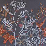 Картины и панно ручной работы. Ярмарка Мастеров - ручная работа Лесные травы. Handmade.