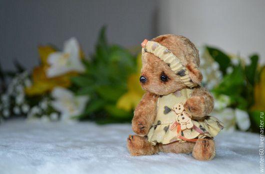 Мишки Тедди ручной работы. Ярмарка Мастеров - ручная работа. Купить Мишутка Таечка. Handmade. Бежевый, миник, пластика