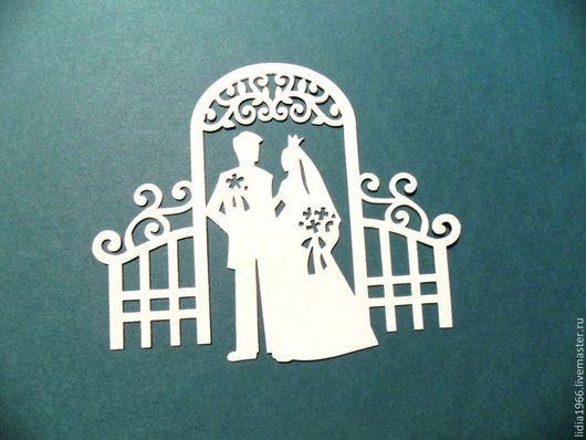Ажурная, свадебная вырубка.