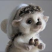 Куклы и игрушки ручной работы. Ярмарка Мастеров - ручная работа Ёжик Веснушка. Handmade.