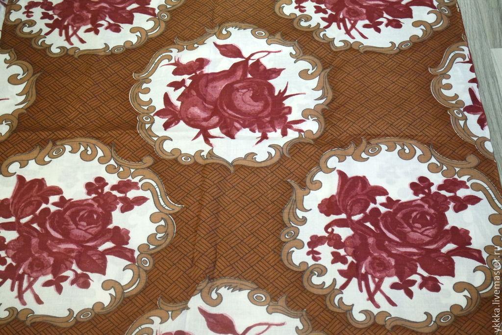 Cotton fabric 'Flowers', Fabric, Voronezh,  Фото №1